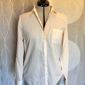 J Crew 'Boy Shirt' button down w/sequin placket